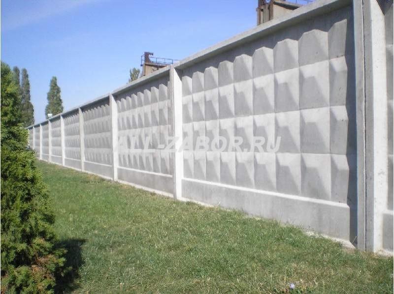 Купить забор из бетона в челябинске купить бетон в ярославле с доставкой
